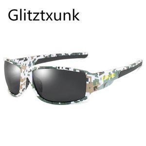 Glitztxunk 2020 New Polarized Sunglasses Men's Shades Sun Glasses For Men Square Vintage Sports Driving Travel Fishing UV400