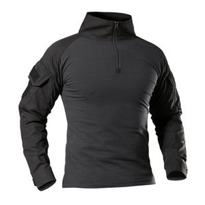 Army SWAT Long Sleeve T-Shirt Men Spring Summer Tactical Quick Dry T Shirt Breathable Casual Tees Camouflage Paintball Clothes 0924