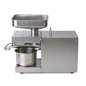 2020 oil press Stainless Steel Oil Press Machine Automatic Oil Extraction Peanut Coconut Olive Extractor Expeller 220v