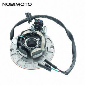 Motorbike Magneto Iluminação estator bobina Motocross Motor de terras raras Motores Motor Stator Bobinas Fit For YX 150cc-160cc 2CQ-135-3 8Ul1 #