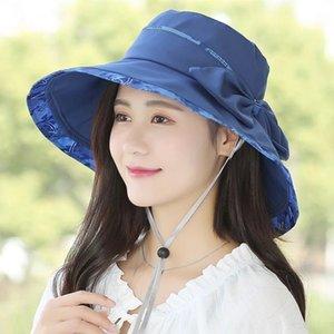 l'été des femmes grand bord de la mode parasol style coréen tout-match en plein air sortie chapeau féminin chapeau soleil cool plage