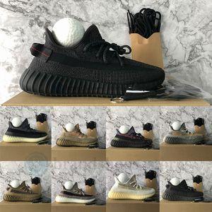 Adidas yeezy boost 350 v2 Con la caja  Eliadá  reflectante Desert Sage Kanye West zapatos corrientes de las zapatillas de deporte 700 V3 Azael Alvah Deportes