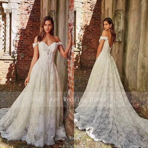 New Elegant Cap Sleeve White Lace Wedding Dresses Appliques Sexy Backless Bridal Gowns Vestido De Noiva