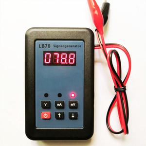 Портативный аналоговый 0-20 4-20 0-10 мА мВ Генератор сигналов 0-100mV Генератор источник тока Simulator 4-20 мА калибратор петли 24V Simulator