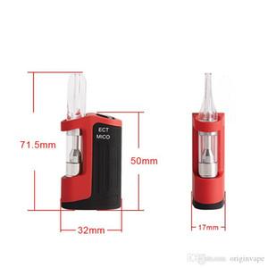 100% Authentic ECT Mico Box Mod Preheating Start Kit 450mAh Batteries Vapor pen G5 Tank 510 Cigarette For 92A3 Oil Cartridge Vaporizer