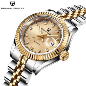 Новые Top Brand PAGANI Дизайн Женские часы вскользь Кварц Ladise платье Часы Водонепроницаемая швейцарские часы Relogio Feminino