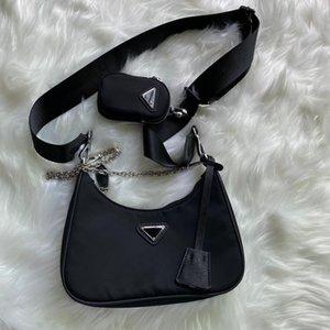 bolso de hombro de la manera para las mujeres cadenas paquete de pecho señora totalizador del bolso de la presbicia bolso mensajero bolsa de tela bolsa mochila