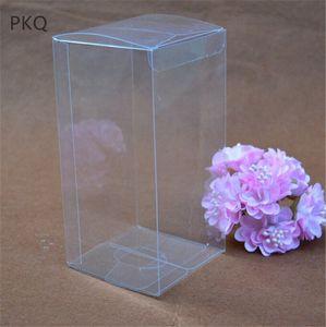 10pcs Büyük Plastik Şeffaf PVC Kutuları Şeffaf Su geçirmez Hediye Takı / Şekerleme / Oyuncak Ekran Kutusu jsYB # İçin Box Paketleme