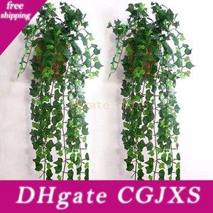 Artificial Ivy Folha Garland plantas falsas Vinha Folhagem Flores Home Decor Aproximadamente 2 .5m
