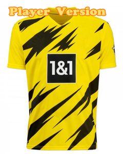 HAALAND Dortmund Soccer Kit REUS SANCHO Up to 4XL New 2020-21 soccer jersey Top Thai Quality Dortmund HAZARD football kit