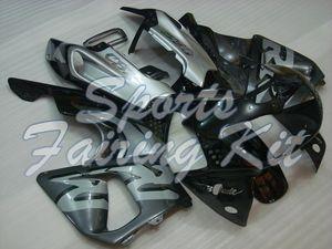 Пластиковые обтекатели для CBR893RR 1994 - 1997 Black Silver CBR Полный Body Kits CBR893RR 94 95 Пластиковые обтекатели CBR893RR 1997
