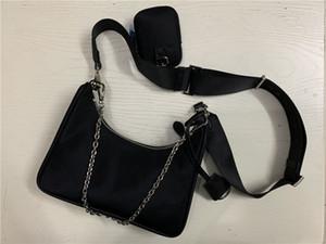 2020 femmes de mode de vente concepteur ensemble 3 pièces sacs femmes sac bandoulière sacs à main véritable sacs à main en nylon dame sacs fourre-tout Porte-Monnaie trois article