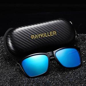 ساحة جديدة RAYKILLER المستقطبة للحزب الرجال المتطابقة الصيد نظارات UV400 القيادة في الهواء الطلق مع القضية