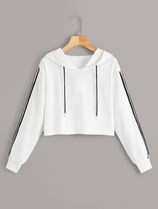 2OCNM 2019 новый с капюшоном 2019 женская одежда свитер с капюшоном с капюшоном с капюшоном короткий свитер женской одежды