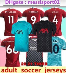 Top Tailandia 2020/2021 liverpool Jersey di calcio di calcio Camicia adulto migliore qualità