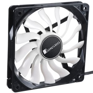 Jonsbo 12020 Cpu Fan Pc Caso Cooler Fan 12cm Ultra-Thin Computer Cooling 12V Mute Pc Capa Para Computador