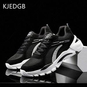 KJEDGB 2020 zapatos casuales para hombre transpirable hombre zapatillas de malla transpirable masculino zapatos blanca adulta Zapatos De Hombre más el tamaño 39 47 Blanca Sh # PqKr