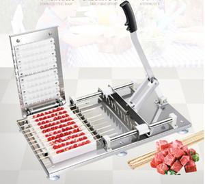 machine_meat dize şiş shiyongFactory fiyat paslanmaz çelik manuel döner eti Et Kebap Makinesi Wear machineManual