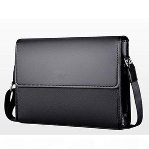 men bag fashion Shoulder bag Business briefcase Men Messenger Bags vintage Leather Crossbody Casual Man Handbags