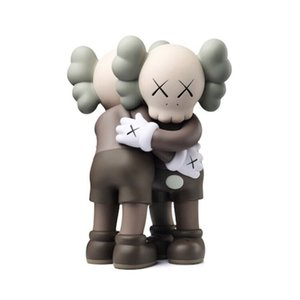 Hot 26cm embrace kaws doll hand model dolls three colors fashion brand decoration