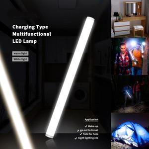 4 Modes Touching Interrupteur Lampe LED rechargeable LED Lights Bar DC 5V Lumière de bande de chargement USB Camping extérieur
