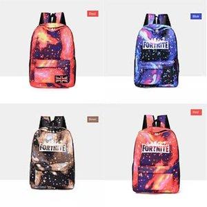 Biggie Orso Fortnite cielo stellato Fortezza Notte zaino Cool Daypack Via Schoolbag Spray Zaino Scuola di Sport sacchetto esterno Day Pack # 191