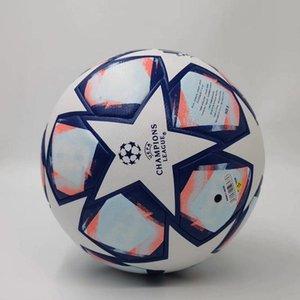 20 21 campeão europeu bola de futebol tamanho 2020 2021 final KYIV PU 5 bolas grânulos antiderrapante futebol Frete grátis