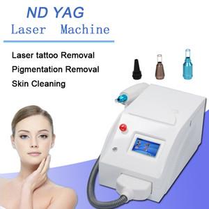 ND YAG الليزر آلة الوشم بالليزر فين الأوعية الدموية بالليزر التجاعيد لحد من البقع إزالة النمش علاج الصباغ