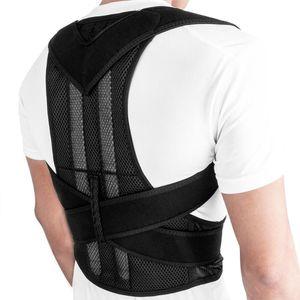 Corset Health Care Soft Shoulder Unisex Posture Corrector Therapy Adjustable Lumbar Belt Back Brace Durable Spine Support