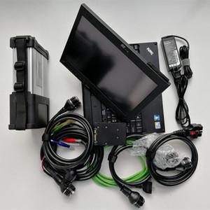 MB Star C5 Compact 5 SDConnect Мультиплексор с 2020.06 Программное обеспечение 320 ГБ HDD X200T Диагностические инструменты ноутбука с WiFi Full Set