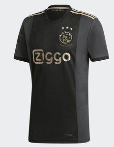 MEN + KIDS KIT 20/21 Ajax-Fußballjersey-weg schwarzes Fußballhemd 2020 2021 Ajax Amsterdam camiseta de fútbol