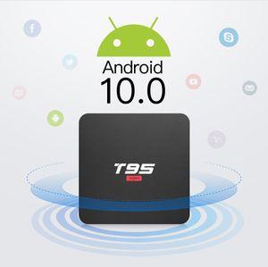 T95 Android super 10.0 TV BOX 2G 16Go Allwinner H3 Quad Core 2.4G Wifi H.265 4K 1080P DÉCODEUR