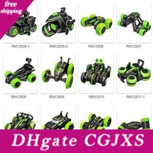 Rc Stunt-Motorrad 2 .4ghz 3d Rotating Drift Stunt Racing Motorrad elektrische Fernbedienung Boy Rc Spielzeug für Kinder