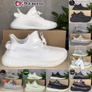 Top quality 2021 Kanye West Cinder Yecheil Bred Oreo Desert Sage Earth Linen Asriel Zebra Trainers Sneakers Men Women Running Shoes with box