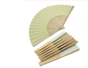 Personalized Wedding Fan Customized LOGO Hand-made Folding Fan Wedding Party Giveaways For Guest free shipping