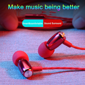 wholesale XK-001 new Earphones 3.5mm Headphones In-Ear headset for Mp3 Mp4 Cell phone tablet earbuds without package game earphones