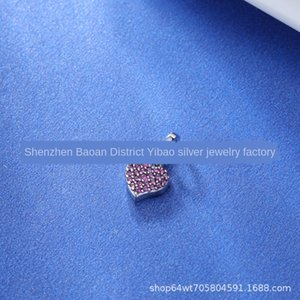 YIBAO 브랜드 뉴 펜던트 DIY의 저 시리즈 내 사랑 925 실버 펜던트 DIY 브로치 채권 팔찌 액세서리 팔찌 pxsIc