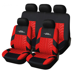 2020 New Tire Track Universal Style Car Seat Covers Fits Most Brand Vehicle Seat Cover Car Protector 4 Color For Choose