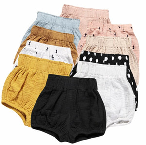 Ins Baby Shorts Toddler PP Pants Baby Girls Boys Casual Triangle Pants Baby Diaper Pants Infant Bloomer Briefs Diaper Cover Underpants