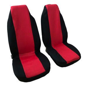 Winsun 4шт Общие сезоны Цельный 5 мест Автокресло Обложки Set Красный Черный