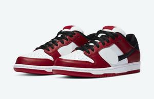 Red SB Dunks Low Chicago zum Verkauf 2020 gute Männer Frauen beiläufige Schuhe lagern mit Kasten Großhandelspreise US5-US11