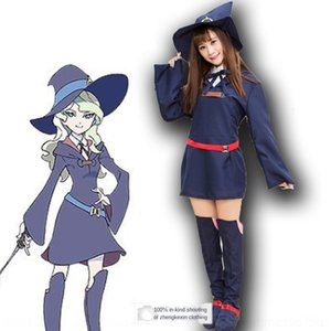 aVKWC 작은 마녀 학교 정원 다이 애나 susiman 바바라 로티 Janson 씨 의상 연기 Yako 의류 의류 cosplaycostume