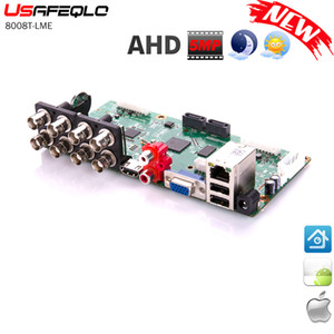 6 in 1 8CH 5MP-N 4M-N AHD DVR Surveillance Security CCTV Recorder 1080N Hybrid DVR Board For Analog AHD CVI TVI IP