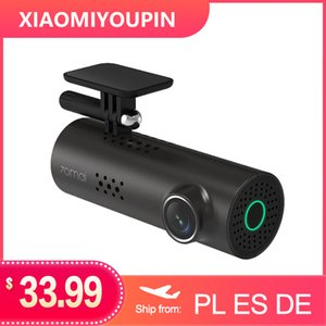 Hot Xiaomi 70mai traço Cam 1S Car DVR Wifi Inglês Controle de Voz Dashcam 1080p HD Night Vision Camera Car Video Recorder G-sensor