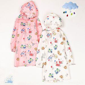 0IiAJ J9RS0 Neue Karikatur-Ecke biologischer Regenmantel Kinder Body Bag Junge Kleidung Cloak babieskindergarten clothesand Körper studentsjumpsuit