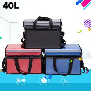 Grande Food térmica Cooler Bag Outdoor entrega Waterproof Ice Thermo Packs Car Viagem Picnic Lunch Box Thermos Frigorífico Bag MX200717