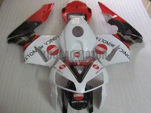 Injection Fairings kit + Geschenke für HONDA CBR600RR F5 2003 2004 2005 2006 CBR600RR F5 03 04 05 06 Körperabdeckung + Windschutzscheibe #white RED # 9VK43