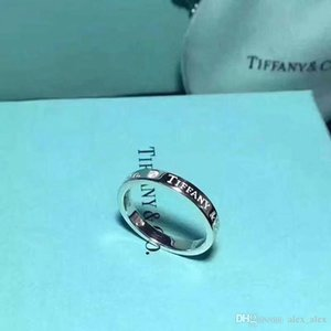Nuova Tre diamanti titanio luxurys acciaio firmati gioielli delle donne anelli di nozze Anelli di fidanzamento set mens anelli gioielli