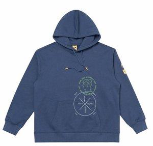 горячая Новая Канада северного Мужская Brain лицо Мертвый камень цвета с капюшоном свитер с капюшоном куртки Бесплатная доставка на остров