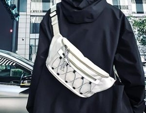2020 Tooling Art Persönlichkeit Reflective Seil Unisex Gürteltasche Brusttasche Port-Stil Street Beat Messenger Bag